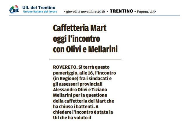 Rovereto caffetteria Mart IMM